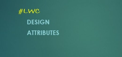 Santanu Pal | Salesforce Blog | How to set Design Attributes in LWC?